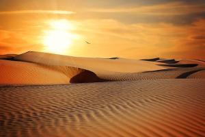 宁夏-【银川当地玩乐】腾格里沙漠五湖连穿+沙漠腹地驼盐古道轻装徒步 5天4晚