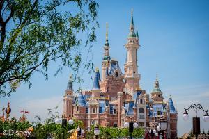 主題樂園-迪士尼樂園酒店花園房+2大2小上海迪士尼兩日門票(等待確認)