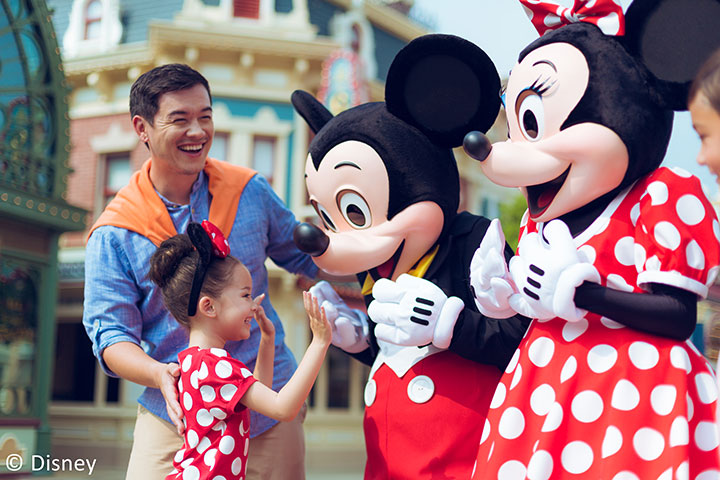 【乐园】香港迪士尼乐园1天*单程*直通巴士*去程交通+乐园门票