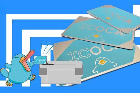 日本【交通票】西日本ICOCA卡日本交通购物一卡通
