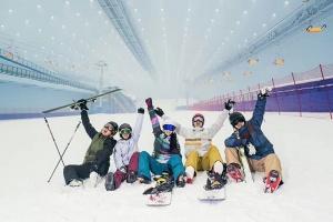 东北-【尚·全景】长春、敦化、哈尔滨、双飞6天*长白山国际旅游度假区*伏尔加庄园*万达城室内滑雪*油画村<升级2晚超豪华酒店>