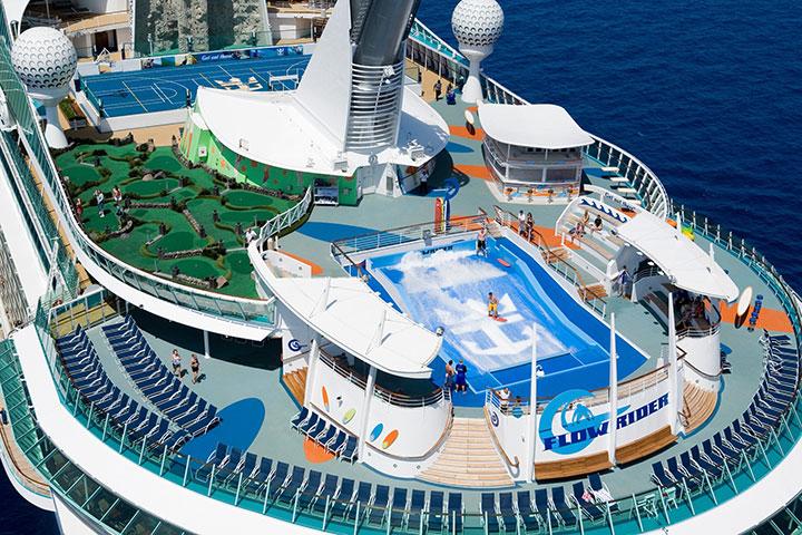 皇家加勒比海洋航行者号香港-冲绳-大阪(过夜)-神户-高知-香港9晚10天