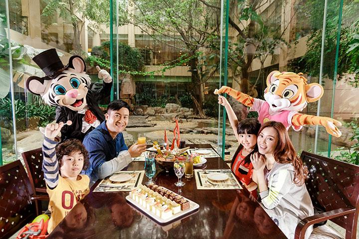 广州长隆酒店 白虎自助餐厅-广州长隆酒店白虎餐厅 10人以上团队自助午餐