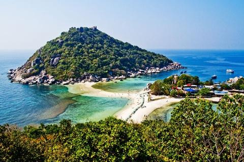 泰国涛岛5天.机票+哈天海滩俱乐部酒店4晚+初级潜水员考证