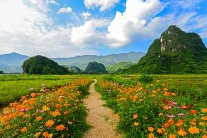 漂-【跟团游】清远英西峰林胜境1天*竹筏画廊、老虎谷激情洞漂全程漂 纯玩一天