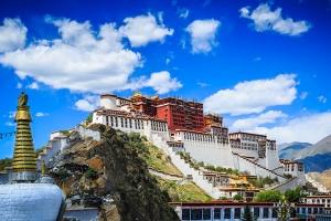 西藏-【尚·深度】西藏、拉萨、林芝、三飞6/7天*精品西藏*1晚入住景区内豪华酒店<布达拉宫,雅鲁藏布大峡谷,巴松措,鲁朗林海观景台>