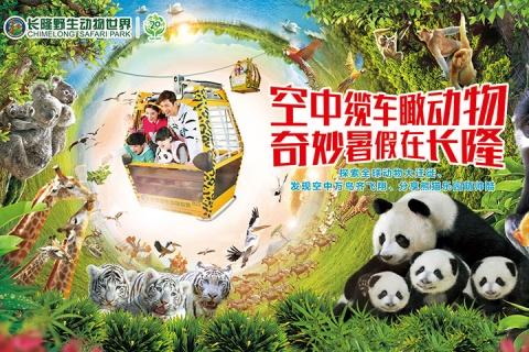 长隆野生动物世界家庭票(7月20号开售)