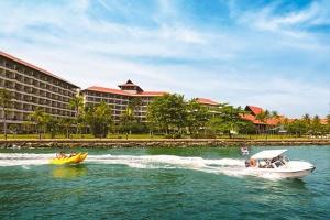 沙巴-【出境自由行】马来西亚沙巴5天*2晚市区豪华酒店+2晚丹绒香格里拉度假酒店*南航正点航班广州往返*等待确认<醉美落日>