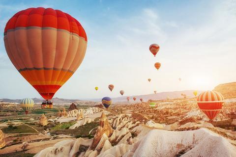 土耳其12天·全景环游·土耳其航空直航·广州往返<地中海,棉花堡,卡帕多奇亚,番红花城>