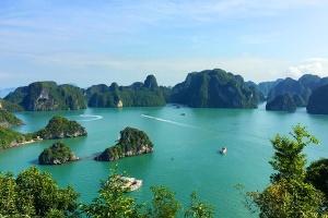 广西-【尚·全景】越南、东兴、下龙湾、河内、动车5天*越升级*乐游<环游北越,不走回头路,升级1晚超豪华>