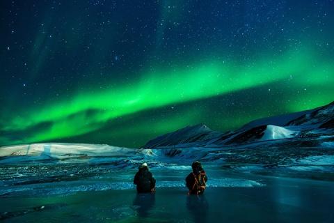 美国加拿大联游14天.阿拉斯加4晚追极光.观光列车.山顶风情木屋.北极圈证书