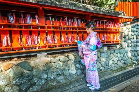 日本本州6天*环球影城VIP优先入园<京都和服试穿,京都汤豆腐河豚料理>