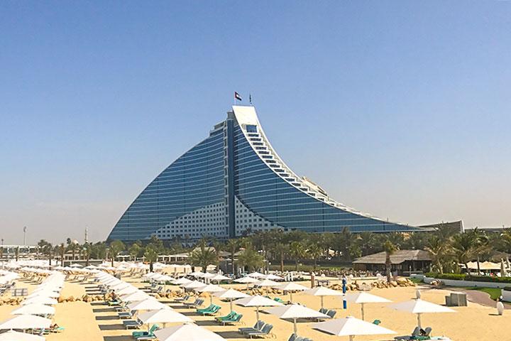 【尚·休闲】阿联酋迪拜、阿布扎比5-6天*小帆船特享<1晚小帆船酒店的帆船景观海景房,免费畅玩疯狂唯迪水上乐园>