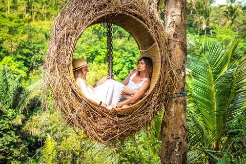 【尚·旅拍】巴厘岛6天*双岛畅游<巴厘秋千+鸟巢,蓝梦岛+贝尼达岛出海游,恶魔的眼泪>