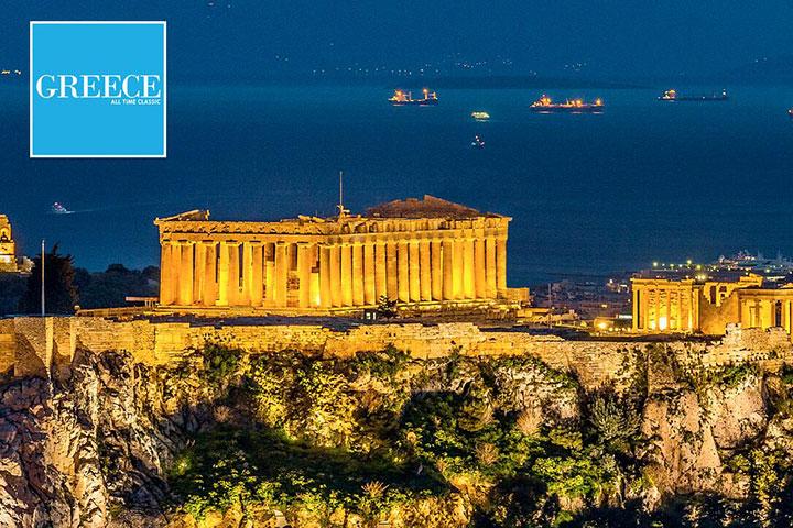 【典·慢享】希腊8天*圣托里尼岛两晚悬崖酒店*雅典卫城含官导讲解<伯罗奔尼撒半岛,纳普良,人工奇迹科林斯运河,FIA>