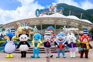 香港海洋公园 2日门票  电子票(有效期至2019年12月24日)