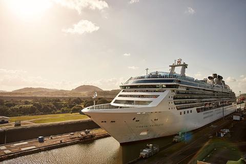 【巴拿马加勒比航次】公主邮轮加勒比公主号美国-巴拿马运河-哥斯达黎加-加勒比海15天