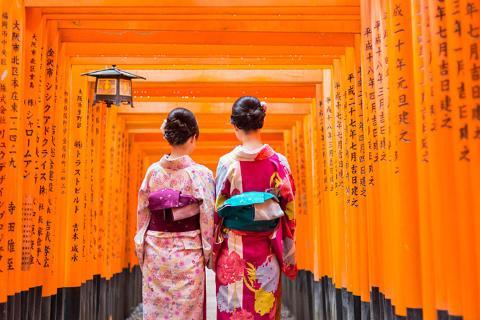 【乐·休闲】日本大阪、京都、奈良、神户5天*关西名城博览*和风特惠<有马温泉街,双古都漫游>