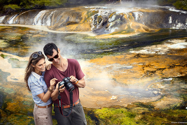 【典·博览】新西兰北岛7天*欢乐漫游<汤加里罗国家公园,胡卡瀑布,羊驼牧场>