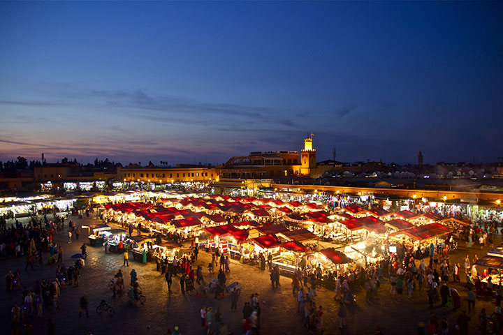 【尚·慢享】摩洛哥9天*全程纯玩<白色之城卡萨布兰卡,政治首都拉巴特,多门之城梅克内斯,浪漫古城菲斯,红色之城马拉喀什>