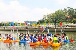 【智趣营】广州1天*黄埔游艇码头皮划艇*天鹿湖飞越丛林