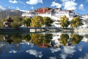 西藏-【典·美景】西藏、拉萨、林芝、三飞6/7天*经典西藏*全程升级豪华酒店*6人成团*乐游<布达拉宫,羊卓雍措,鲁朗林海观景台,色季拉山>