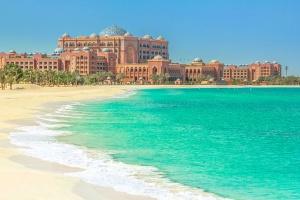迪拜-【尚·休闲】阿联酋迪拜、阿布扎比5-6天*酋长皇宫酒店*帆船美食<酋长皇宫酒店晚餐,棕榈岛轻轨列车>