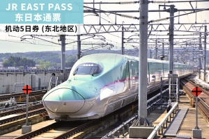 日本-日本【交通票】JR EAST PASS 東日本通票 機動5日券 (東北地區)