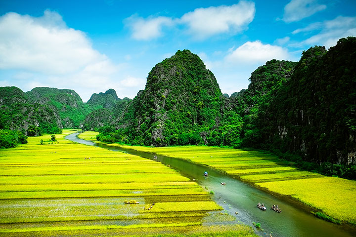 【尚·全景】越南、下龙湾、陆龙湾、河内、动车5天*乐游*畅游世界自然遗产<0加点,迷宫花园>