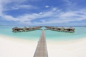 【自由行】马尔代夫(天堂岛)6天*机+酒*广州往返*等待确认<设施齐全、开发成熟、免费wifi、中文服务、快艇上岛>