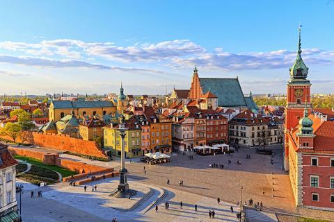 东欧波兰六国10天*经典之作*华沙古城*布拉格城堡、美泉宫官导讲解<全程豪华酒店,特色烤鸭餐>