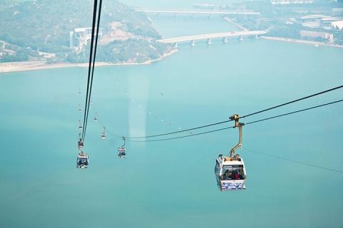 香港1天.港珠澳大桥.大屿山昂坪360标准缆车.去程交通.免排队快速换乘