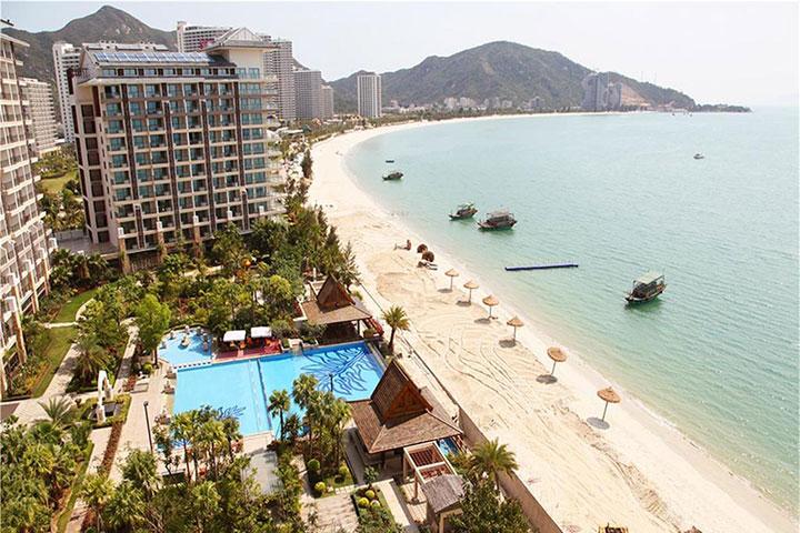 【海滩直通车】惠州巽寮湾2天*入住海尚湾畔度假公寓*豪华酒店*一线私家沙滩*含风味午餐