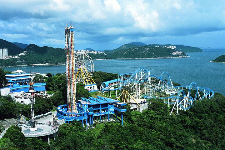 【门票*交通】香港2天*广深港高铁往返车票*海洋公园门票*自由行套票<GT>