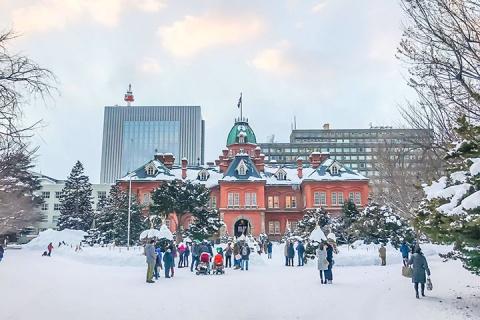 日本东京、北海道8天。亲子乐享 <滑雪场一日滑雪,音乐盒DIY,企鹅游行SHOW>