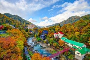 北海道-日本【當地游】北海道定山溪溫泉一日游(含接送巴士/兩種套餐可供選擇)