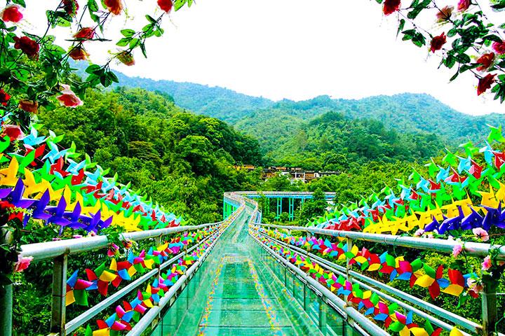 【生态】清远清泉湾无际玻璃桥1天*清泉湾森林公园*包含午餐