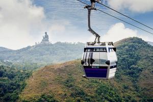 【休闲】香港昂坪1天*单程*去程直通巴士*含往返360标准缆车