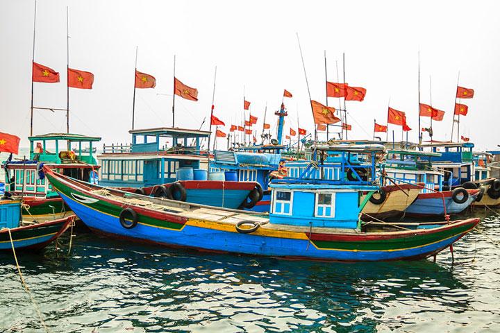 【典·休闲】越南、下龙湾、吉婆岛、吉公岛、动车4天*乐游*双岛联游<船游下龙湾,天堂岛,海鲜火锅+炸鸡宴>