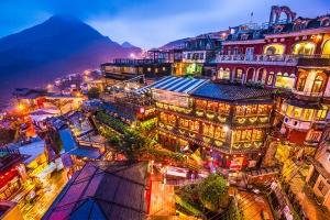 【台湾自由行】台湾5-8天*机票+台北一天游*港澳往返<游九份山城,放十分天灯,一人成行,即时确认>