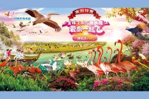 广州长隆飞鸟乐园 全票