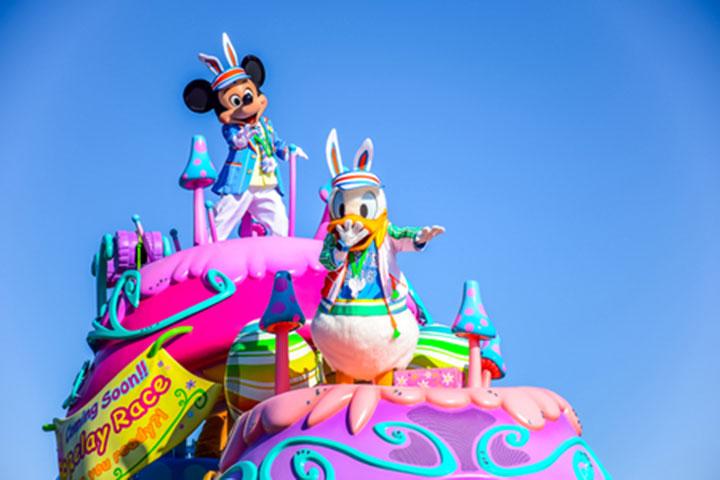 东京迪士尼乐园-东京迪士尼陆地/海洋乐园电子儿童票4-11岁(必须打印入园)