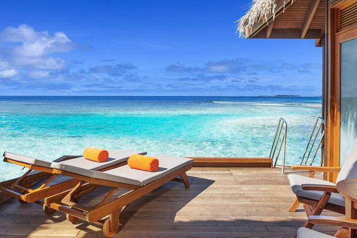 【自由行】马尔代夫(圆月岛)6天*机+酒*广州往返*等待确认<喜来登品牌集团、中文服务,快艇上岛>