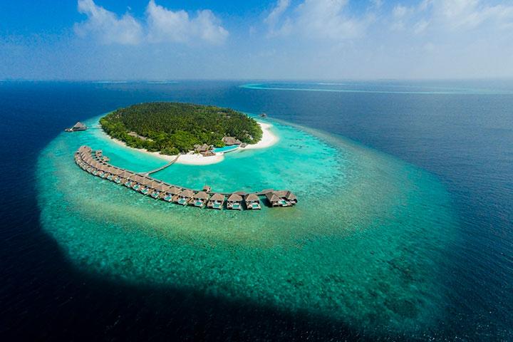 【自由行】马尔代夫(都喜天丽岛一价全包)6天*机票+酒店*广州往返*等待确认<泰式主题餐厅、中文服务、内陆飞机+快艇上岛>