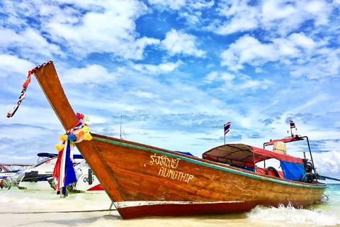 【自由行】泰国普吉5天*机票+4晚普吉热门海滩豪华酒店+机场接送服务*广州往返*等待确认<普吉自由行人气套餐>