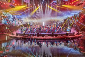 珠海长隆剧院《龙秀》2大1小家庭票 普通座门票