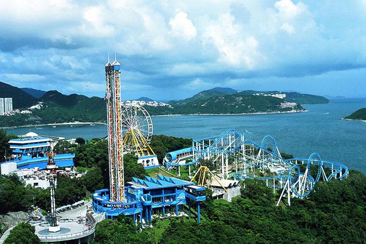 【乐园】香港海洋公园2天*自由行套票*单程*直通巴士<2HQ>