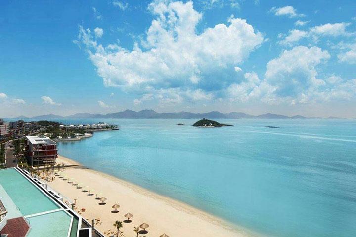 【海滩直通车】惠州大亚湾2天*入住泡泡海家园公寓*含酒店沙滩<多房型可选>