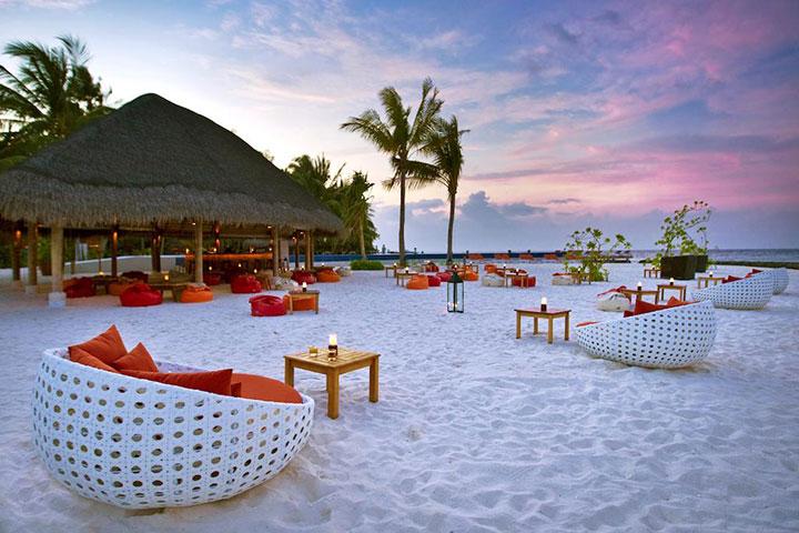【自由行】马尔代夫(库拉玛提岛)7天*机+酒*广州往返*等待确认<拖尾沙滩,中文服务+免费WiFi,快艇或水飞上岛>