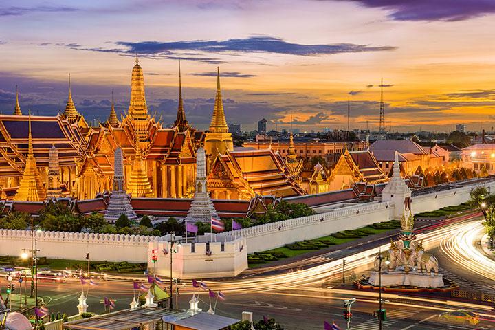 【乐·博览】泰国曼谷、芭堤雅6天*吃喝玩乐<东芭乐园,人妖表演,快艇畅玩双岛>